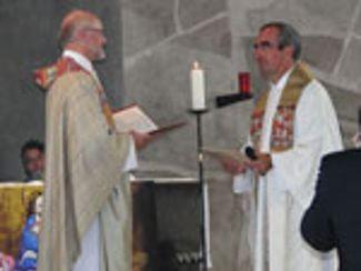 Geistlicher Direktor Rainer Remmele wurde ins Amt eingeführt (15.10.12)