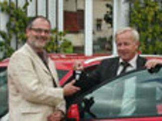 Ein neuer Audi für Regens Wagner Holnstein (September 2012)