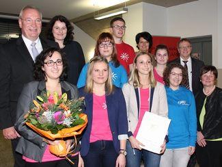 Regens Wagner und der Kreisjugendring Neumarkt erhielten Inklusionspreis 2016 (Dezember 2016)