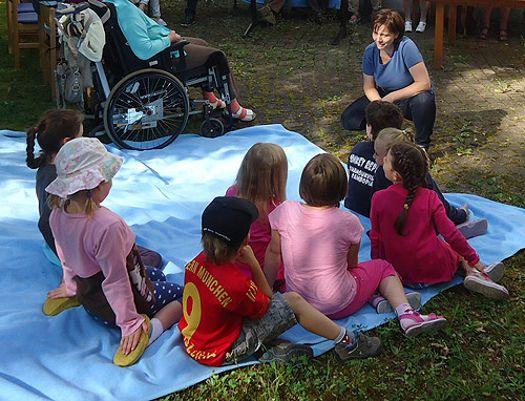 Kindergarten besucht TENE (Juli 2014)