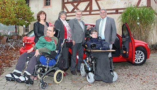 Offene Hilfen können in Zukunft mit neuem Audi ihre Dienste anbieten (Oktober 2014)