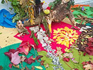 Regens Wagner Holnstein gedenkt dem hl. Franziskus (Oktober 2014)