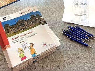 Die Offenen Hilfen informierten über die Bundestagswahl (September 2017)