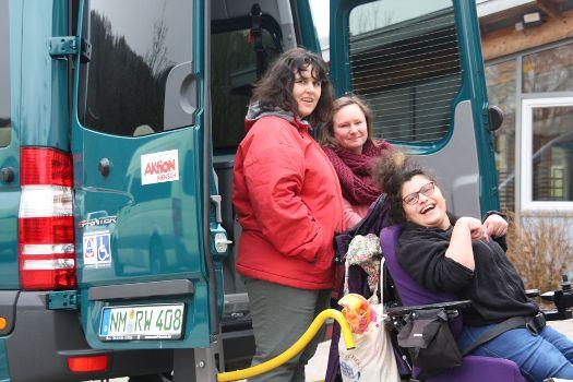 Aktion Mensch spendet Rollstuhlbus (Februar 2018)