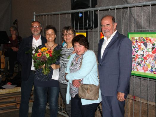 Von links: Herr Theil, Frau Winter, Frau Mosandl, Frau Pickl, Herr Gailler