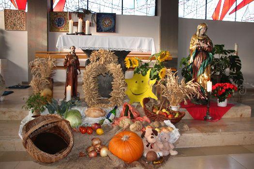 Franziskusfest und Dank für die Schöpfung