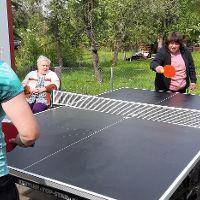 Tischtennis Action