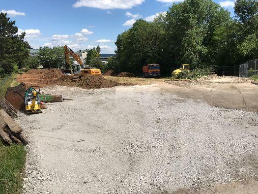 Baubeginn unserer Wohnanlage in Parsberg
