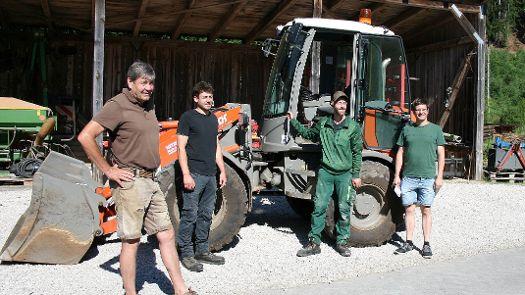Von den Werkstätten in die Landwirtschaft