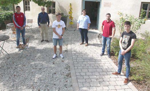 Drei neue Auszubildende bei Regens Wagner Holnstein