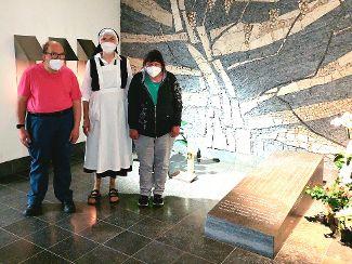 Werkstattrat besuchte das Grab von Johann Evangelist Wagner