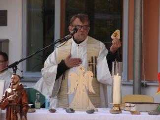 Gottesdienst am Festtag des Heiligen Franziskus von Assisi